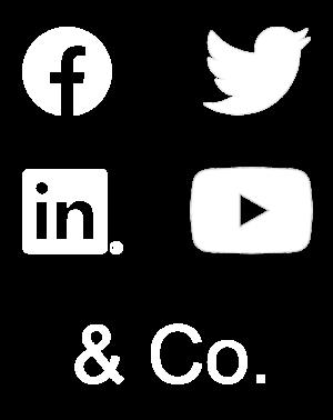 Link zu der Liste der sozialen Netzwerke